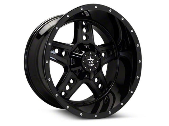 RBP 90R Colt Gloss Black Machined 6-Lug Wheel - 20x10 (04-18 All)