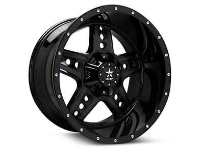 RBP 90R Colt Gloss Black Machined 6-Lug Wheel - 20x10 (04-18 All)