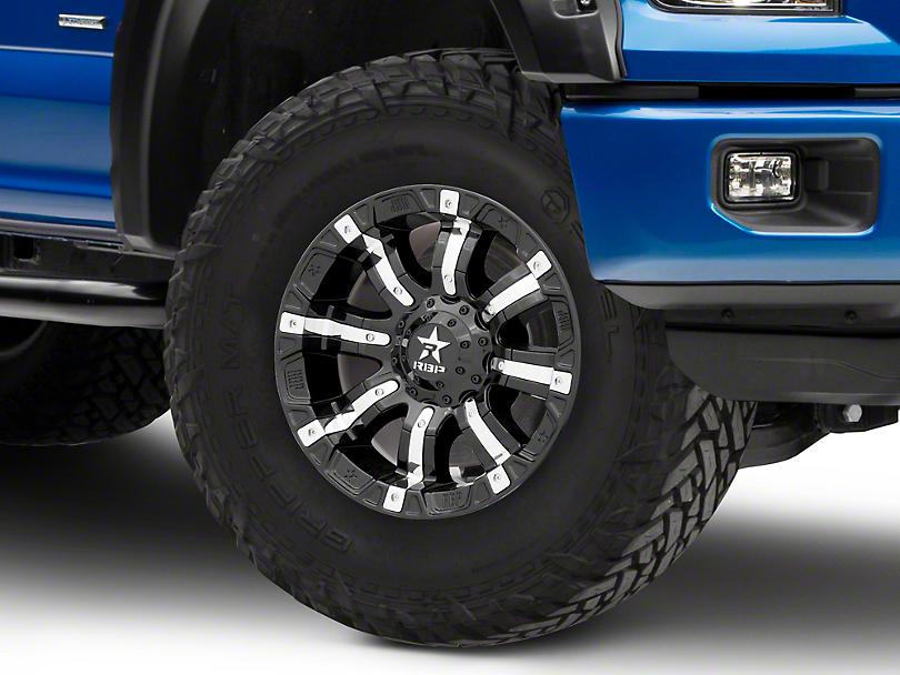 RBP 94R Black w/ Chrome Inserts 6-Lug Wheel - 17x9 (04-17 All)