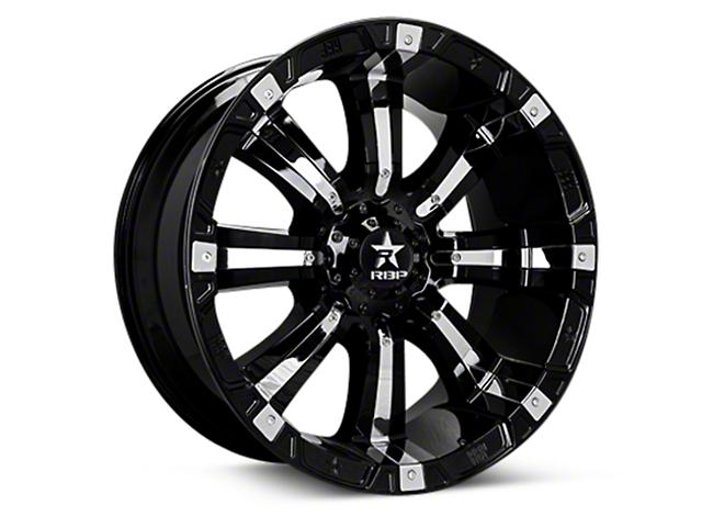 RBP 94R Black w/ Chrome Inserts 6-Lug Wheel - 18x10 (04-18 F-150)