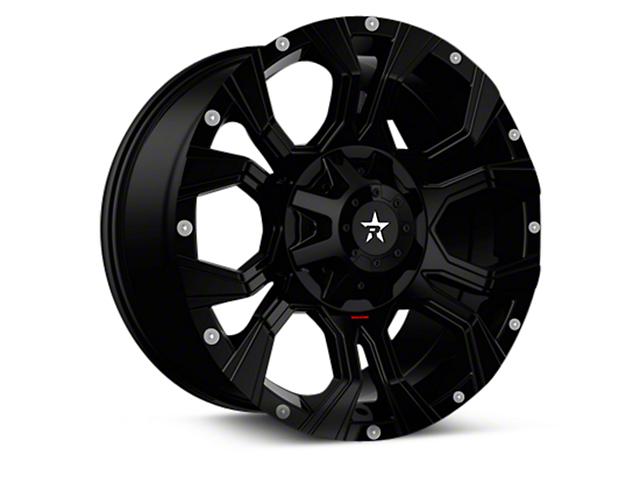 RBP 64R Widow Gloss Black 6-Lug Wheel - 18x9 (04-17 All)