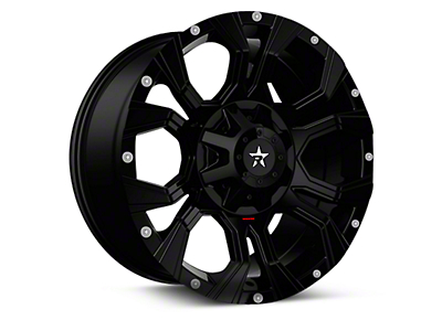 RBP 64R Widow Gloss Black 6-Lug Wheel - 18x9 (04-17 All)