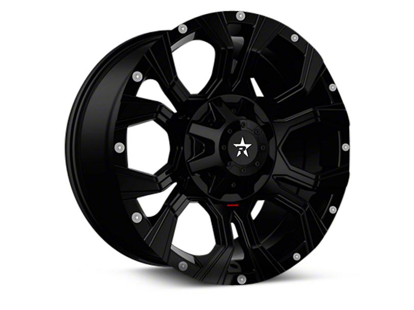 RBP 64R Widow Gloss Black 6-Lug Wheel - 20x10 (04-18 F-150)