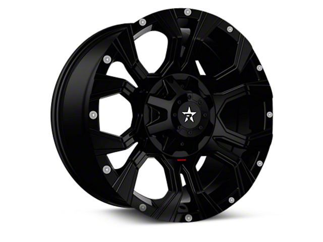 RBP 64R Widow Gloss Black 6-Lug Wheel - 20x10 (04-17 All)