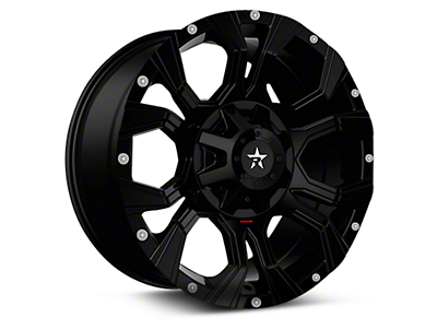 RBP 64R Widow Gloss Black 6-Lug Wheel - 20x12 (04-18 All)