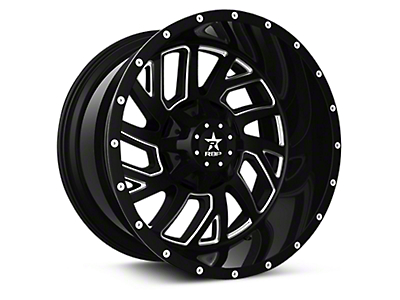 RBP 65R Glock Black Machined 6-Lug Wheel - 20x10 (04-18 All)