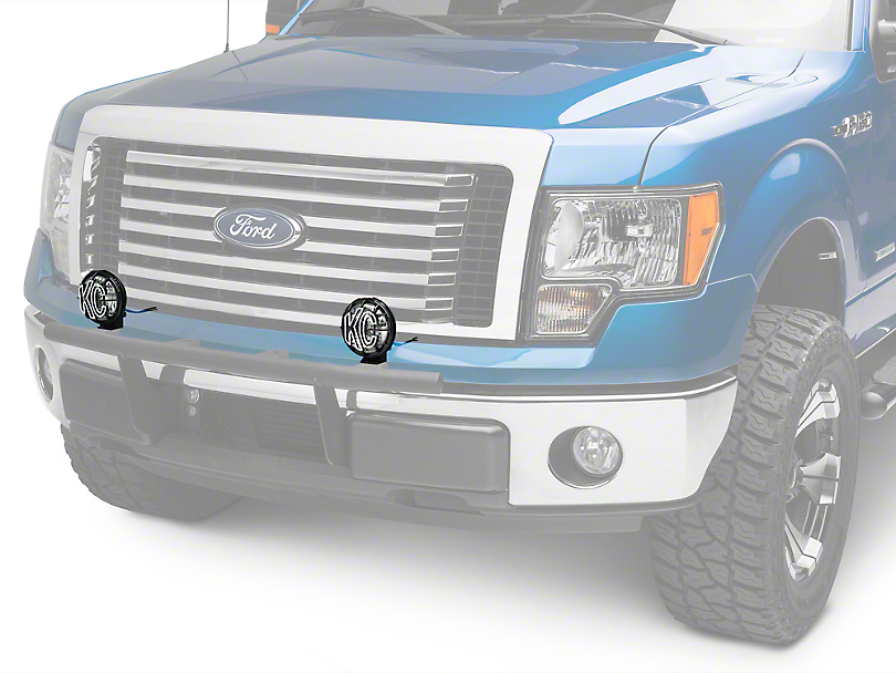 KC HiLiTES 5 in. Apollo Pro Halogen Lights - Spread Beam - Pair (97-18 F-150)