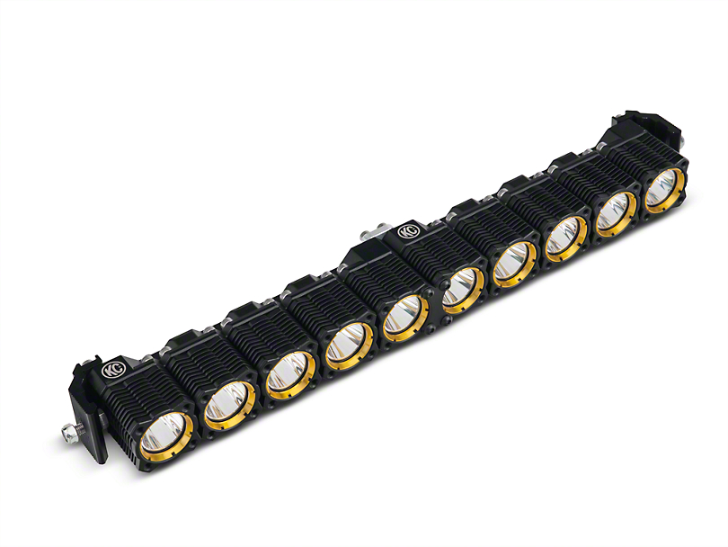 KC HiLiTES 20 in. Flex Array LED Light Bar - Spot/Spread Combo (97-17 All)