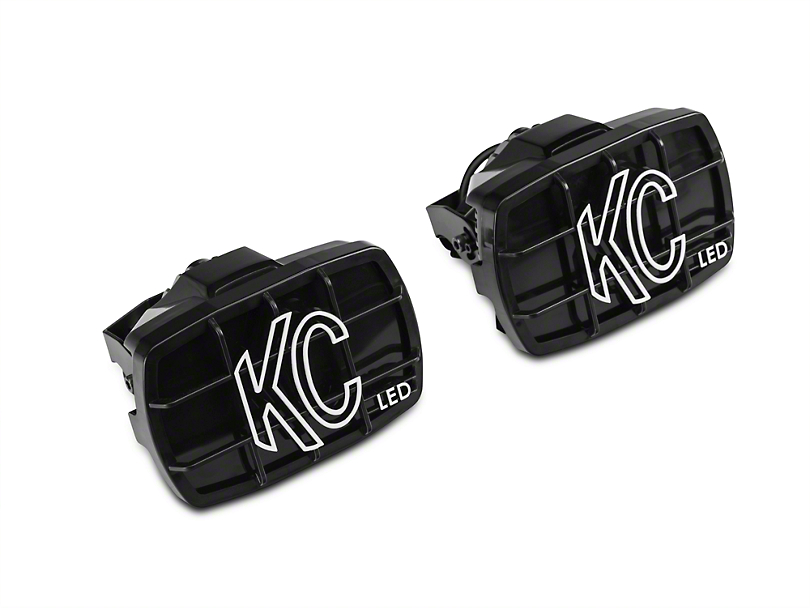 KC HiLiTES 4x6 in. Gravity G46 LED Lights - Driving Beam - Pair (97-18 F-150)