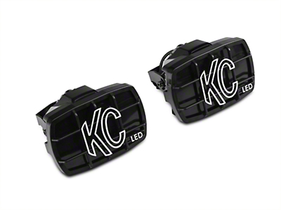 KC HiLiTES 4x6 in. Gravity G46 LED Lights - Driving Beam - Pair (97-17 All)