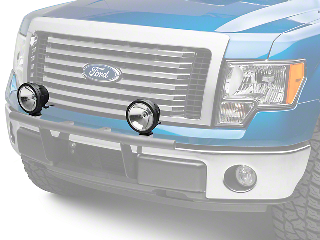 KC HiLiTES 6 in. Pro-Sport HID Lights - Spot Beam - Pair (97-18 All)