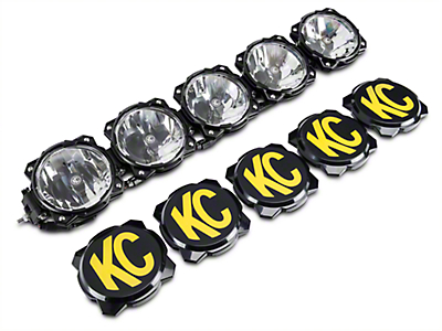 KC HiLiTES 32 in. Gravity Pro6 LED Light Bar - Spot/Spread Combo (97-18 All)