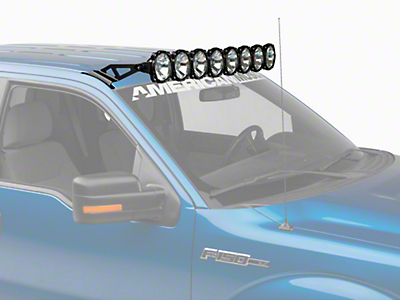 KC HiLiTES 50 in. Gravity Pro6 LED Light Bar - Spot/Spread Combo (97-18 All)