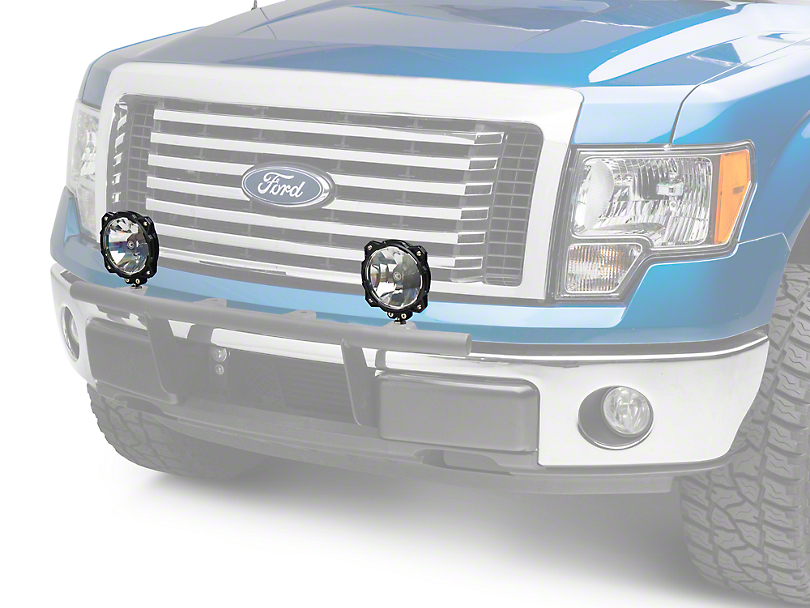 KC HiLiTES 6 in. Gravity Pro6 LED Lights - Wide-40 Beam - Pair (97-18 F-150)