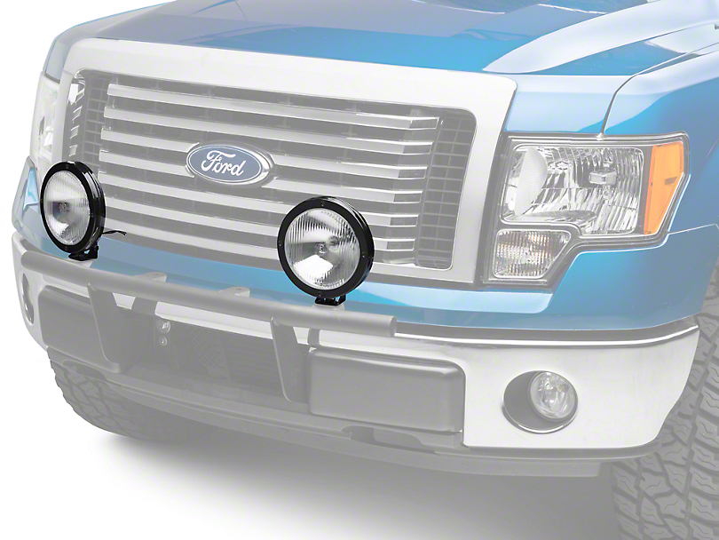 KC HiLiTES 8 in. Rally 800 Halogen Lights - Spread Beam - Pair (97-17 All)
