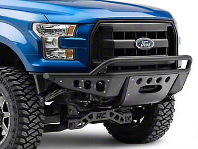 Addictive Desert Designs Stealth R Front Bumper w/ Winch Mount (15-17 5.0L)