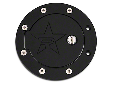 RBP RX-2 Locking Fuel Door - Black (97-03 F-150 Styleside)