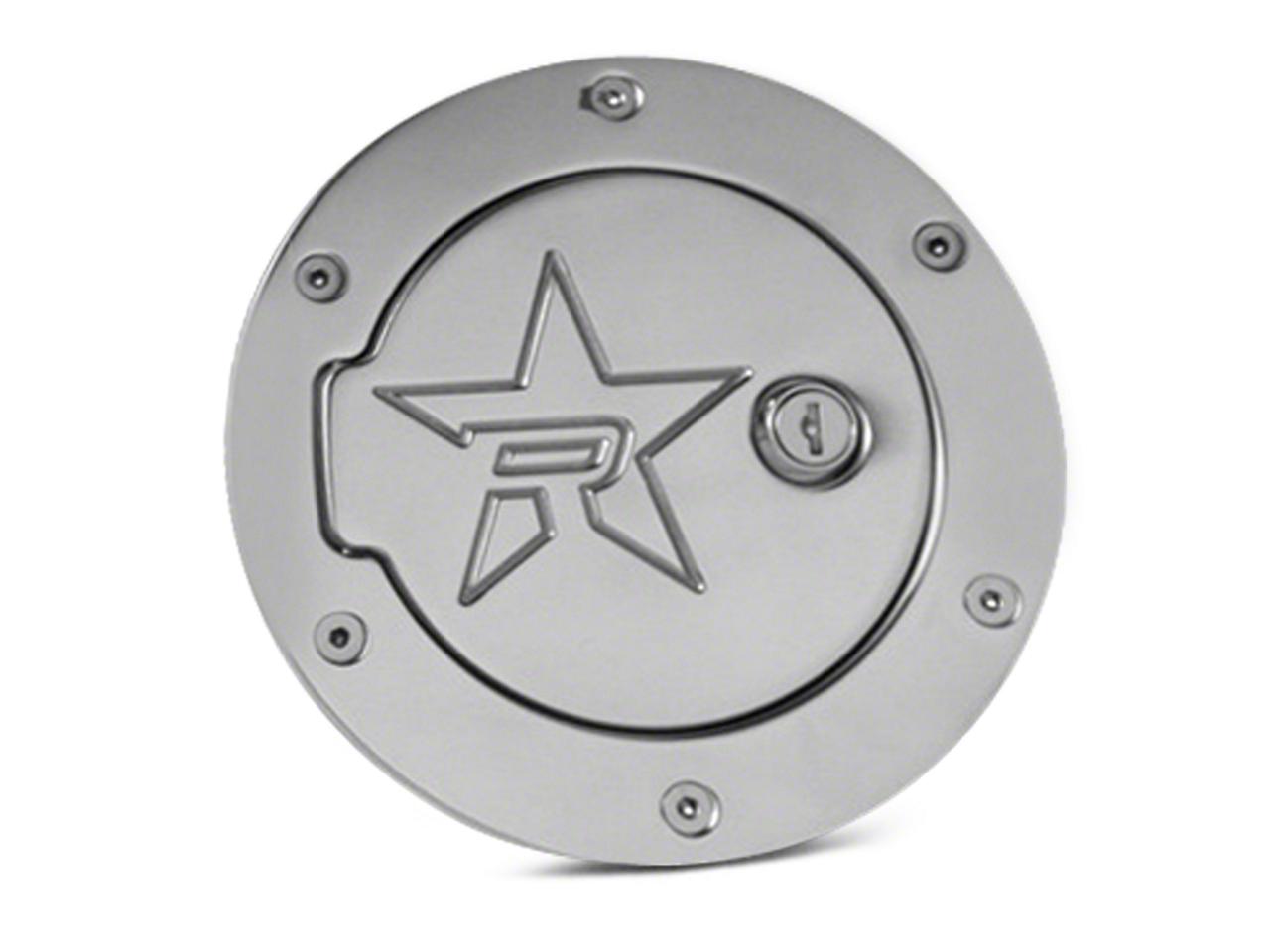 RBP RX-2 Locking Fuel Door - Polished Aluminum (97-03 F-150 Styleside)