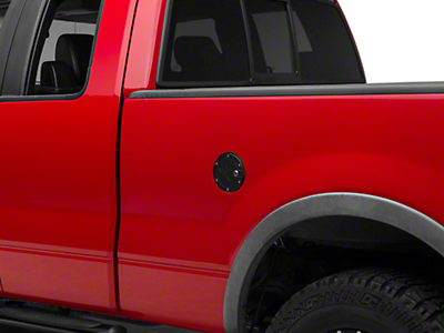 RBP RX-2 Locking Fuel Door - Black (04-08 F-150 Styleside)