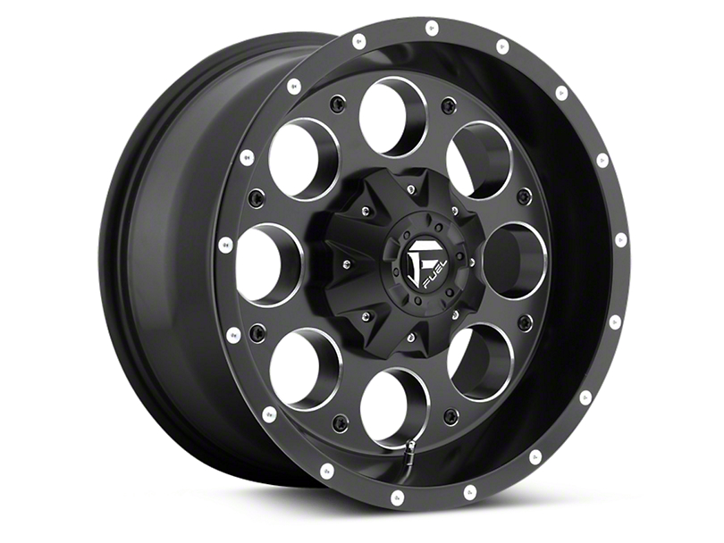 Fuel Wheels Black Machined Revolver 5-Lug Wheel - 18x9 (97-03 All)