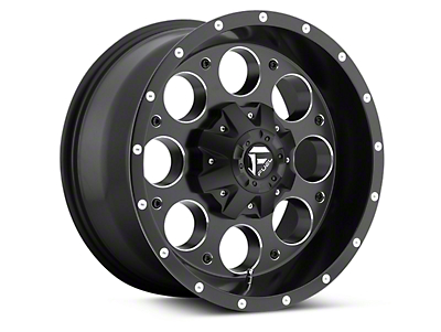 Fuel Wheels Black Machined Revolver 5-Lug Wheel - 18x9 (97-03 F-150)