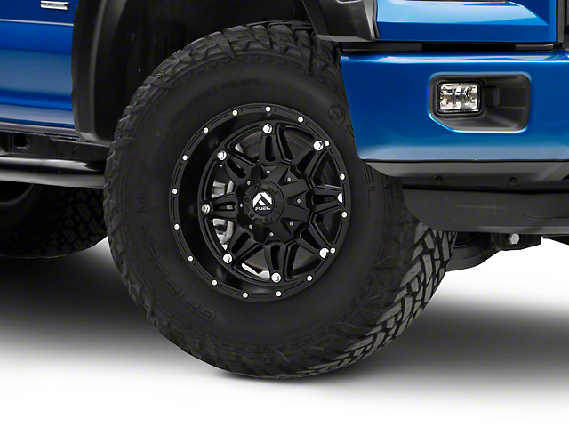 Fuel Wheels Matte Black Hostage 5-Lug Wheel - 17x9 (97-03 F-150)