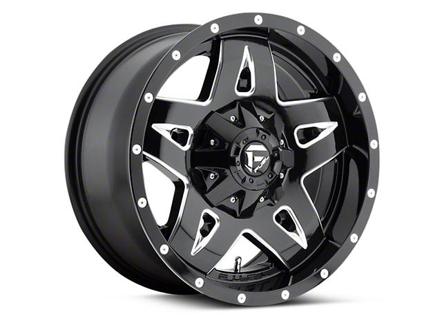 Fuel Wheels Black Machined Full Blown 5-Lug Wheel - 18x9 (97-03 All)