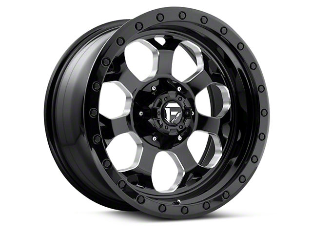 Fuel Wheels Savage Black Machined 5-Lug Wheel - 18x9 (97-03 F-150)