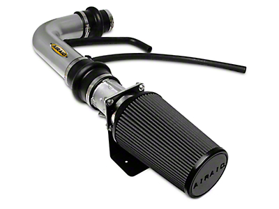 Airaid Silver Classic Performance Cold Air Intake w/ SynthaMax Dry Black Filter (97-03 4.6L)