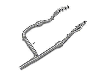 AFE 1-5/8 in. Twisted Steel Headers w/ Y-Pipe - Street Series (04-08 5.4L F-150)