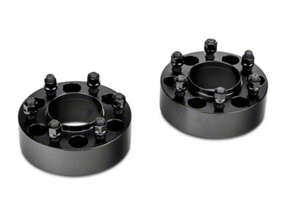 Coyote 2 in. Billet Aluminum Hubcentric 6-Lug Wheel Spacers (15-19 F-150)