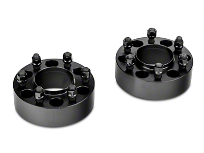 Billet Aluminum Hubcentric Spacers - 2 in. - Pair (15-18 F-150)