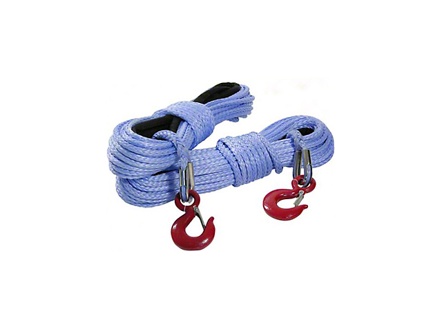 Smittybilt 25/64 in. x 94 ft. DSK-75 Synthetic Winch Rope - 10,000 lbs. (97-17 All)
