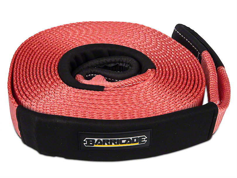 Barricade 2.5 in. x 30 ft. Recovery Strap - 17,500 lbs. (97-17 All)