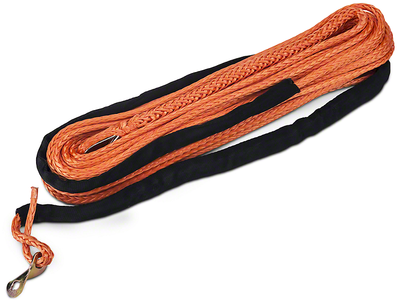 Barricade Replacement Synthetic Rope for Barricade 9,500 lb. Winch - Orange (97-17 All)