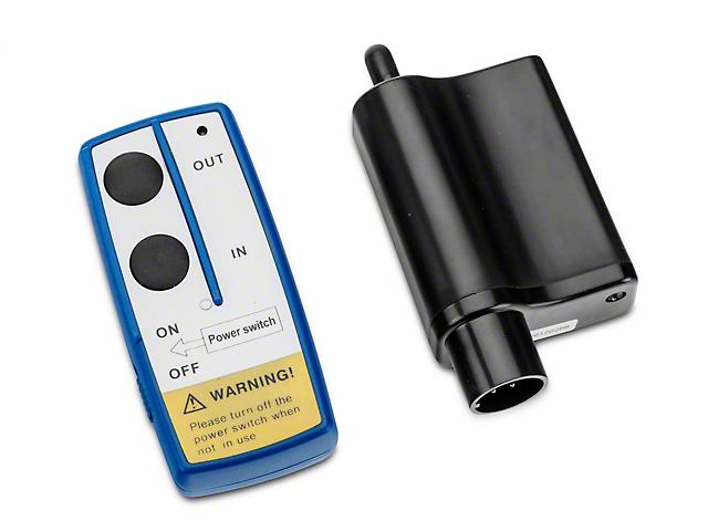 DV8 Off-Road 12,000 lb. Winch Wireless Remote (97-18 All)