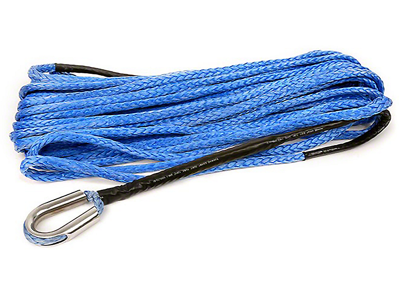 Rough Country 3/8 in. x 85 ft. Synthetic Rope - 16,000 lbs. (97-17 All)