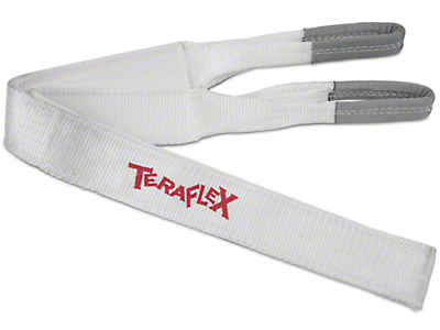 Teraflex 2 in. x 30 ft. Recovery Tow Strap - 20,000 lb. (97-17 All)