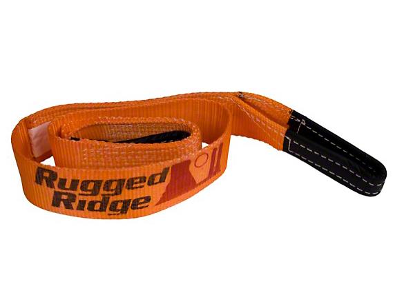 Rugged Ridge 2 in. x 6 ft. Tree Trunk Protector - 20,000 lbs. (97-18 All)
