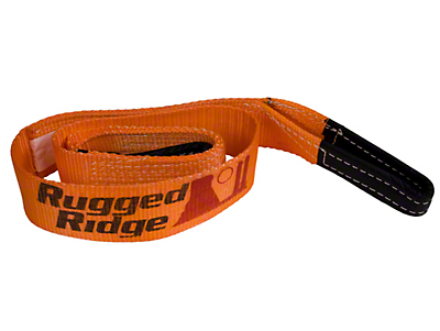 Rugged Ridge 3 in. x 6 ft. Tree Trunk Protector - 30,000 lbs. (97-18 All)