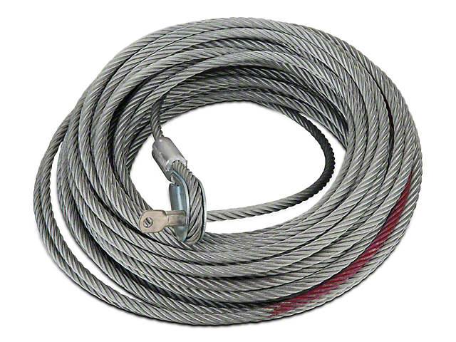 Rugged Ridge 8,500 lb. Winch Replacement Steel Cable - 5/16 in. x 94 ft. (97-17 All)