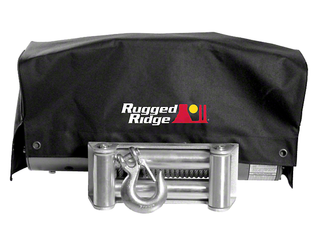 Rugged Ridge 8,500 lb. or 10,500 lb. Winch Cover (97-17 All)