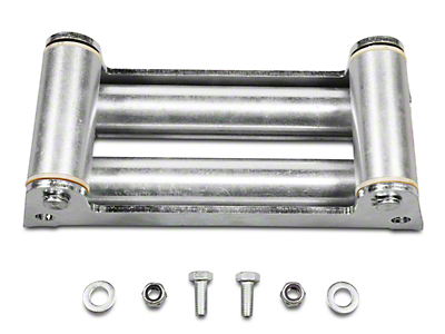 Rugged Ridge Winch Roller Fairlead w/ Light Mounting Holes (97-17 All)