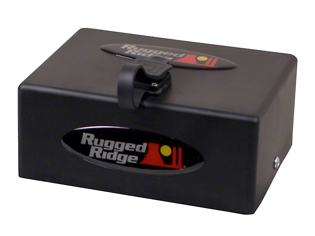 Rugged Ridge 8,500 lb. or 10,500 lb. Winch Replacement Solenoid Box Assembly (97-17 All)