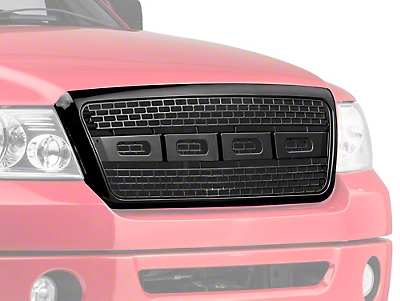Barricade Raptor Style Upper Replacement Grille - Black (04-08 F-150)