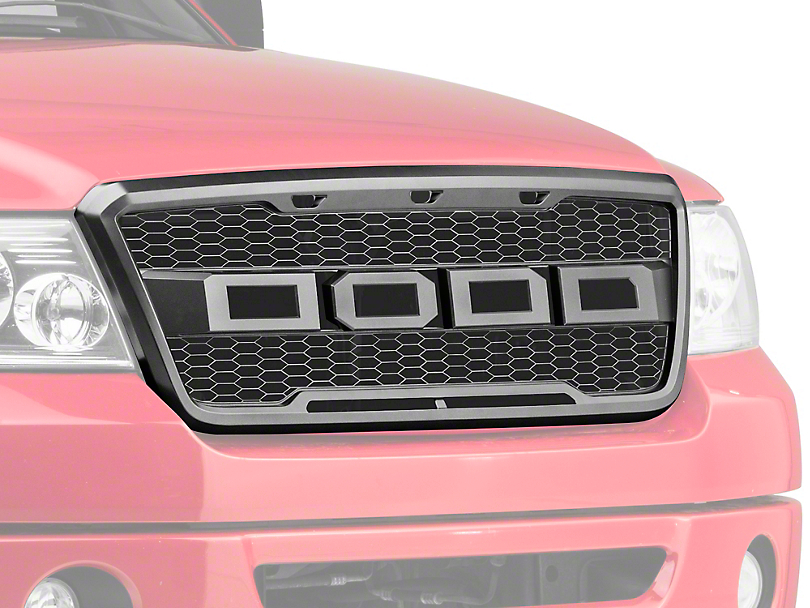Barricade Raptor Style Upper Replacement Grille w/ LED Lighting (04-08 F-150)