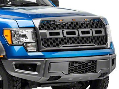 Barricade Upper Replacement Grille w/ LED Lighting (09-14 F-150, Excluding Raptor)