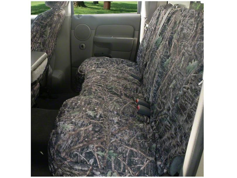 Covercraft Seat Saver 2nd Row Bench Seat Cover - True Timber Camo (97-03 SuperCab, SuperCrew)