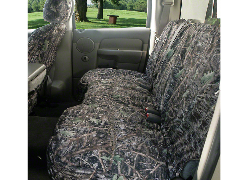 Covercraft Seat Saver 2nd Row Bench Seat Cover - True Timber Camo (04-08 SuperCab, SuperCrew)