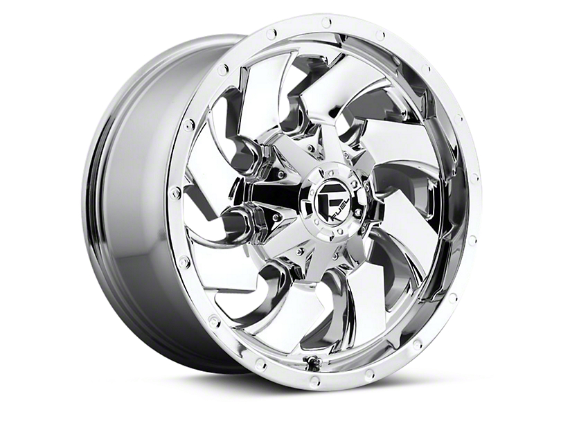 Fuel Wheels Cleaver Chrome 6-Lug Wheel - 18x9 (15-19 F-150)